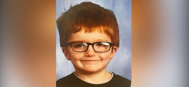 PHOTO: James Hutchinson, 6, who was allegedly killed by his mother and dumped in the Ohio River, is pictured in an undated law enforcement handout image. (Middletown Division of Police)