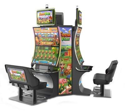 FarmVille(TM) slot game is now available nationwide, only on Aristocrat's new EDGE X(TM) cabinet.