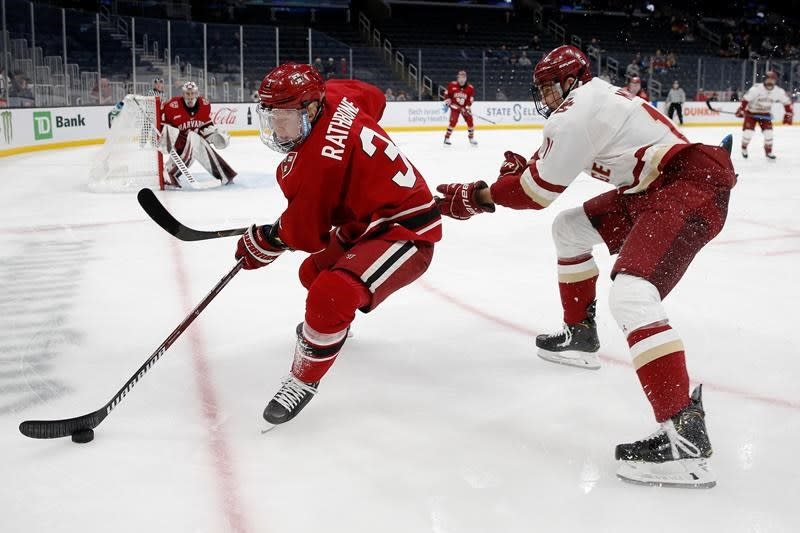 Confluence of events prompted Jack Rathbone to sign with Vancouver Canucks