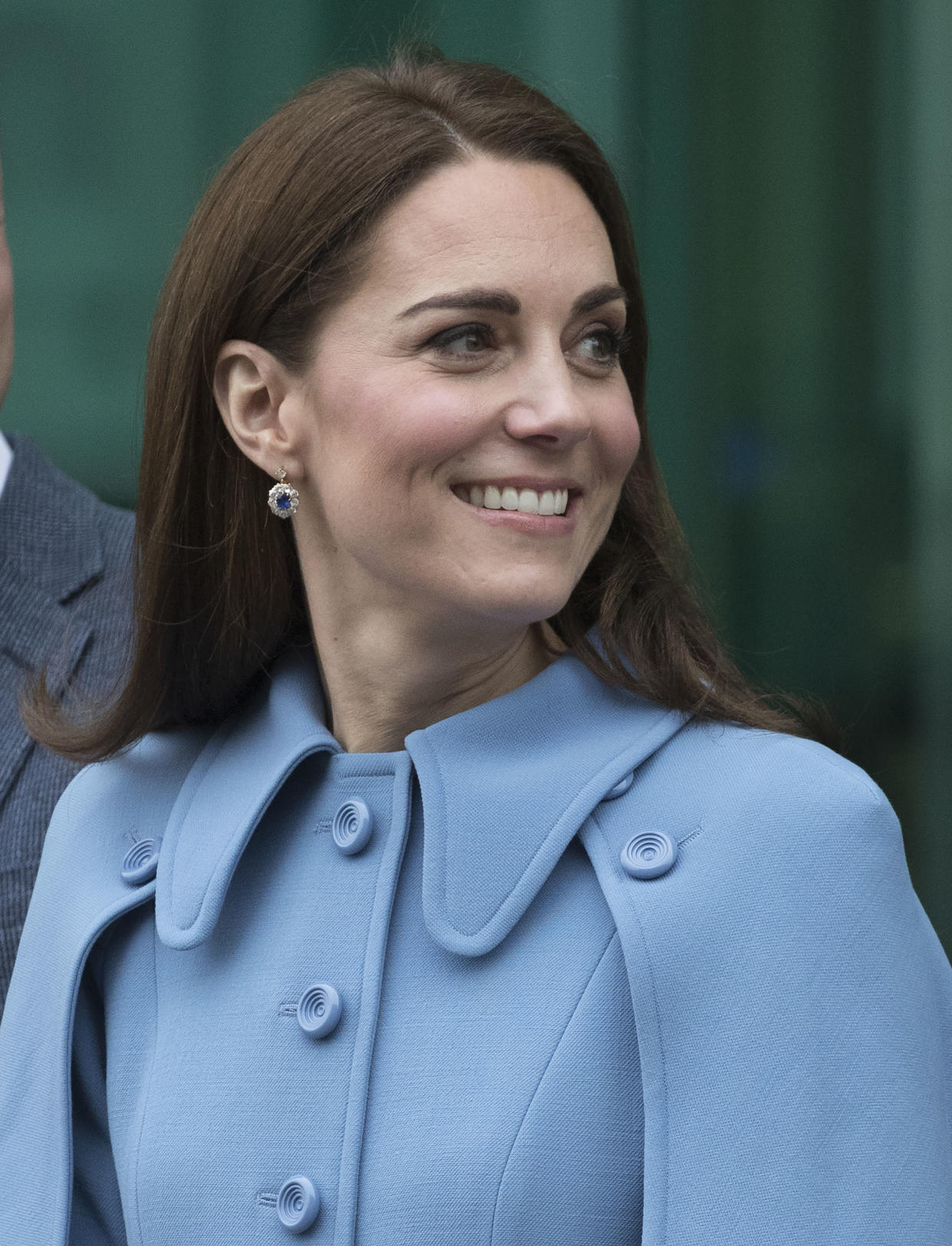 Kate Middleton received her first dose of the COVID-19 vaccine. (Photo: Stephen Lock - Pool/Getty Images)