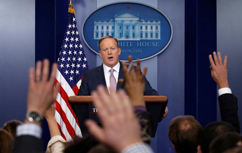 Sean Spicer's Best Moments Are Also His Worst