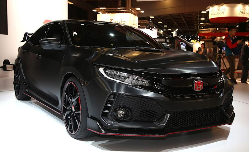 honda civic type r prototype it 39 s almost here. Black Bedroom Furniture Sets. Home Design Ideas