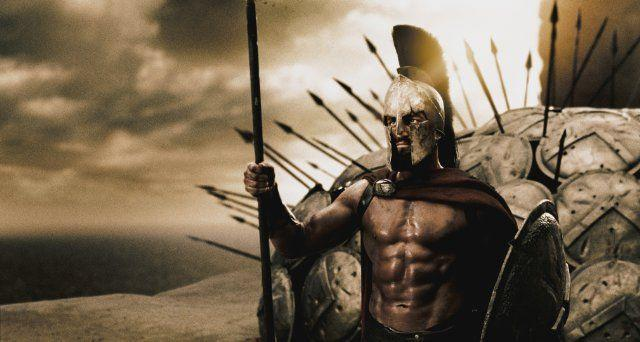 <p>Leonidas set the tone from the very beginning of this gore-filled ultra-violent flick. The leader of the Spartan army never shied away from a fight, and even though his final moments saw him on his knees, it wasn't to beg for mercy, it was to die as he lived—by the sword, or, in this case, spear. If that wasn't enough, Leonidas and his men also managed to best all of Xerxes's forces—which far outnumbered the Spartans—in battle up until the very end.</p>