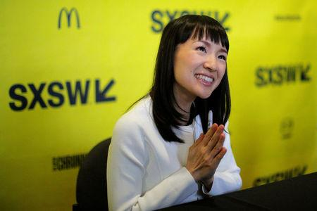 Japanese author and creator of the KonMari Method to declutter, Marie Kondo, thanks a fan during a book signing at the South by Southwest (SXSW) Music Film Interactive Festival 2017 in Austin, Texas, U.S., March 11, 2017. REUTERS/Brian Snyder