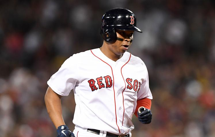 brand new b00bb 92b3c Rafael Devers is youngest Red Sox player since Ted Williams ...