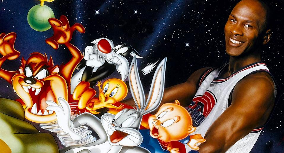 Detail from the poster for <i>Space Jam</i>. (Warner Bros.)