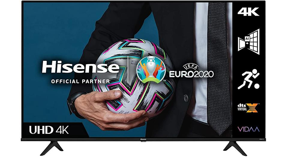 Hisense 55A6GTUK (55 Inch) 4K UHD Smart TV with Dolby Vision HDR