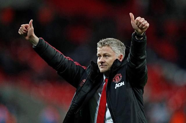 Ole Gunnar Solskjaer was named permanent manager of Manchester United on Thursday (AFP Photo/Adrian DENNIS)