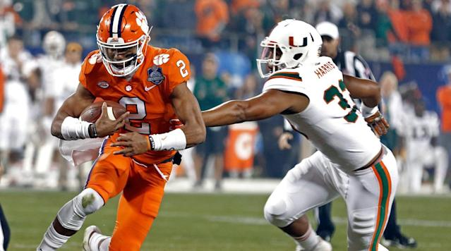 "<p>After the release of the ACC's schedule on Wednesday, all 64 Power 5 teams now know their exact slate of games for the 2018 season. There are multiple checkpoints to cross between now and Aug. 25, when a trio of contests mark the official start of the year. National Signing Day is one, as is spring football. But next season is slowly but surely beginning to take shape, as are the storylines that will dominate public discourse when fall does finally roll around. Here's one narrative from each Power 5 conference for fans to ponder over the game-barren months ahead.</p><h3>ACC: Can the Coastal Division end years of inferiority?</h3><p>The ACC has been won by either Florida State or Clemson, both of which play in the Atlantic Division, each of the past seven years. The disparity between the Atlantic and Coastal Divisions doesn't just exist at the top of the standings—six of the seven teams in the Atlantic finished 2017 with a winning record, compared to just three in the Coastal. But the top is where the difference in quality has been most consistently evident, year after year.</p><p><a href=""https://www.si.com/college-football/2017/10/05/miami-hurricanes-the-u-mark-richt"" rel=""nofollow noopener"" target=""_blank"" data-ylk=""slk:Miami's emergence"" class=""link rapid-noclick-resp"">Miami's emergence</a> bodes well for the Coastal's future prospects. The Hurricanes started last season 10–0 before dropping their final three games, a streak that included a humiliating 38–3 loss to Clemson in the conference championship game. Still, Miami's sudden return to the national conversation—a resurgence expedited by the opportunistic defense that popularized the <a href=""https://www.si.com/college-football/2017/11/11/miami-hurricanes-gold-turnover-chain"" rel=""nofollow noopener"" target=""_blank"" data-ylk=""slk:turnover chain"" class=""link rapid-noclick-resp"">turnover chain</a>—reminded us how much better the ACC is when The U is at its swaggering best. Miami should enter next year ranked in the top 10, with another impressive recruiting class on the way. Virginia Tech will also be a force to be reckoned with in year three under Justin Fuente. Quarterback Josh Jackson returns with a year of starting experience under his belt, and Fuente has recruited well enough to mitigate the loss of six starters on a defensive unit that was one of the nation's best last year. Is this the year that either Miami or Virginia Tech loosen the Atlantic's airtight grip on the trophy?</p><h3>Big 12: Does the end of the Baker Mayfield era open the door for someone to challenge Oklahoma?</h3><p>The Heisman Trophy winner who guided the Sooners to three straight Big 12 titles is off to the NFL. Taking the reins behind center will be Kyler Murray, a former five-star recruit who transferred to Oklahoma from Texas A&M. Murray is fully capable of leading this team to another Big 12 title, but anytime a team has to move on from a legend like Mayfield, there's certainly a chance for a drop-off.</p><p>The door is open—or at least ajar—for a team like TCU to step in and knock the Sooners off their pedestal. The Horned Frogs also lose their signal-caller, Kenny Hill, to graduation, and they'll likely hand the keys to sophomore dual-threat Shawn Robinson. Oklahoma State is another potential successor to their in-state rivals, but there are some questions as to how good the Cowboys will be as they too will be without their starting quarterback from last year, Mason Rudolph. Texas has their quarterback returning and welcomes a top-five recruiting class to campus, but it might be too much to expect Tom Herman's turnaround under construction to yield a league title contender in just his second season in Austin.</p><p>It's not clear which team can or will challenge Oklahoma, and it's not even clear that the Sooners will suffer any sort of setback post-Mayfield. It is the end of an era in Norman, though, and the rest of the Big 12 will hope that also means it's the end of Oklahoma's dominance.</p><h3>Big Ten: Will the top tier be a Big Four or a Big Five?</h3><p>Ohio State, Penn State, Michigan State and Wisconsin enter next season with expectations a cut above the rest of their Big Ten foes. And while Jim Harbaugh has kept Michigan in the headlines for the past three seasons, there's a growing dissatisfaction among Michigan fans that he hasn't cemented the Wolverines' place among that upper tier. Part of the reason for that is that they play Ohio State, Penn State and Michigan State every year because they're in the East division, while Wisconsin generally has a much easier path in the West.</p><p>But excuses don't get you far when you're the coach of a program like Michigan, and there is significant pressure on Harbaugh to finally deliver in the most important games to the fan base. Michigan doesn't have any time to ease into the season, as they open at Notre Dame. That game that won't affect Michigan's Big Ten chances, but a win would certainly ease the blood pressure of boosters and fans alike. Michigan gets Wisconsin and Penn State at home but has to play Michigan State and Ohio State on the road; they'll have to win at least two of those marquee matchups to get to that 10-win benchmark and probably one or two more to challenge for the Big Ten title.</p><h3>Pac-12: Can the conference champion get back into the playoff?</h3><p>USC entered last season as the Pac-12's best hope to get into the playoff, but the Trojans' chances were all but shattered with a 49–14 loss to Notre Dame in October. Then it looked like Washington had a shot, but they too were undone by a late-season setback, at the hands of Stanford. With two weeks left in the regular season, it became clear that no Pac-12 team had a realistic shot at reaching the final four. After a miracle on championship Saturday didn't happen, the inevitable became a reality: The Pac-12 was shut out of the playoff for the second time in the format's four-year history.</p><p>Part of the reason for this could be that the conference just isn't getting the type of recruits that its Power 5 peers are. Over the past five years, USC is the only school to post a top-10 recruiting class in any one cycle, per the 247Sports composite rankings, while every other conference has had at least two schools land top-10 hauls. (On the other end of this spectrum, <em>eight</em> SEC teams have cracked the top 10 in that span: Alabama, Auburn, Georgia, LSU, Ole Miss, Florida, Tennessee and Texas A&M.) Another potential target of blame for the playoff absences could be the oft-cited but impossible-to-prove bias against West Coast teams and those 10:30 p.m. ET kickoffs. Or maybe it's just been bad luck. Whatever the cause, conference commissioner Larry Scott has to hope that a clear front-runner emerges in 2018, and that the front-runner wins the conference title game. Two misses in four years is explainable, but three in five would be a seriously worrying pattern.</p><h3>SEC: How will the new coaches fare?</h3><p>December brought the typical flurry of high-profile coaching changes around the country this year, but many of the most talked-about moves took place in the Southeast. In total, there are five teams that will be led by new head coaches: Jimbo Fisher at Texas A&M, Jeremy Pruitt at Tennessee, Dan Mullen at Florida, Joe Moorhead at Mississippi State and Chad Morris at Arkansas. (Ole Miss also removed the interim tag from head coach Matt Luke.) Apart from Moorhead, the new hires have experience at big-time SEC programs, and all besides Moorhead are taking over sputtering programs with national ambitions.</p><p>Fisher will have the most eyes on him because he left Florida State after re-establishing the Seminoles as a powerhouse for a bar-raising $75 million guaranteed over 10 years. But all non-Vanderbilt coaches don't get a honeymoon period in the SEC. They're expected to produce right away, and it will be interesting to see which coach can muster the kind of quick turnaround that brings buzz back to a program and builds momentum for the future. Two coaches in particular to watch: Mullen might be inheriting the most talented roster of the group in Gainesville, while Moorhead takes over the nine-win team Mullen left behind in Starkville.</p>"