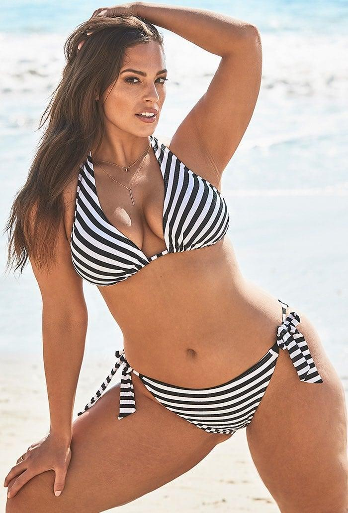 <p>This <span>Ashley Graham x Swimsuits For All Elite Striped Ribbed Bikini</span> ($68, originally $116) may just be the sexy suit you've been looking for.</p>
