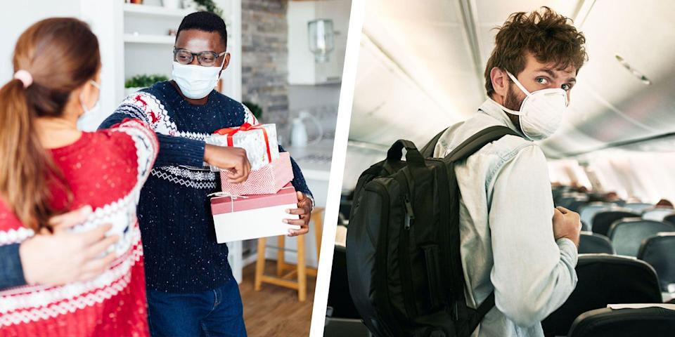 <p>The season of giving has never felt so . . . complex. Because the one thing you don't want to give or receive during the holidays (or ever) is COVID-19. </p><p>So we sifted through the data to see how holiday activities stack up in terms of risk. What follows shows you how risky these classic end-of-year scenarios are in relationship to each other. So you can see where the risks tend to be very high and where they're a little bit lower. </p><p>Your actual risk within each scenario depends upon your personal risk factors and the prevalence of the disease where you live. We're assuming, of course, that no matter where that is, you're doing everything you can to prevent transmission (wearing a mask, distancing, washing your hands). Yes, you can have a good holiday. It just might not be exactly the way you're used to.</p>
