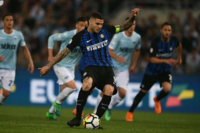 Inter Milan snatched the final Champions League berth with a dramatic come-from-behind 3-2 win over direct European rivals Lazio on the final day of the season at the Stadio Olimpico on Sunday.