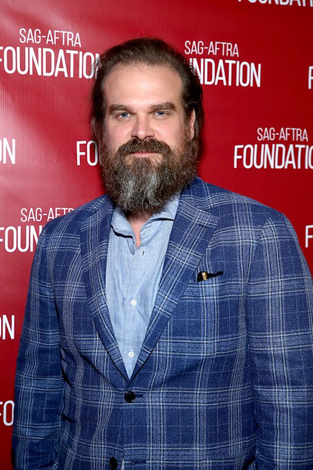 "<p>Whether or not <a href=""https://www.popsugar.com/entertainment/Hopper-Still-Alive-Stranger-Things-46345867"" style=""background-color: rgb(255, 255, 255);"" class=""ga-track"" data-ga-category=""Related"" data-ga-label=""http://www.popsugar.com/entertainment/Hopper-Still-Alive-Stranger-Things-46345867"" data-ga-action=""In-Line Links"">Hopper is still alive</a> <del></del>is unclear, but David Harbour will definitely still be lingering in the pop-culture sphere. Harbour has had a big year, reprising his fan-favorite part on <strong>Stranger Things</strong> and playing the titular role in <strong><a href=""https://www.popsugar.com/entertainment/Hellboy-Reboot-Trailer-45618172"" class=""ga-track"" data-ga-category=""Related"" data-ga-label=""http://www.popsugar.com/entertainment/Hellboy-Reboot-Trailer-45618172"" data-ga-action=""In-Line Links"">Hellboy</a></strong>. He'll also star across Chris Hemsworth and Manoj Bajpayee in this year's <strong>Dhaka</strong>. MCU fans should rejoice as well - the highly anticipated <strong>Black Widow</strong> film will feature <strong>Stranger Things' </strong>beloved sheriff. <br></p> <p>If you love Hop's goofy side, you might appreciate Harbour in <strong><a href=""http://www.netflix.com/title/81003981"" target=""_blank"" class=""ga-track"" data-ga-category=""Related"" data-ga-label=""http://www.netflix.com/title/81003981"" data-ga-action=""In-Line Links"">Frankenstein's Monster's Monster, Frankenstein</a></strong>, a Netflix mockumentary about him uncovering his father's long-lost televised play. It won't be too long a watch - Harbour tackles the wacky premise all in 32 minutes. </p> <p><br></p>"
