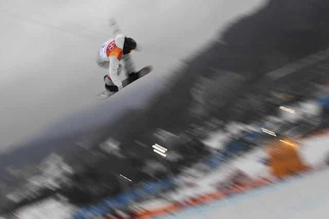 Shaun White snatched victory with his final run. (AFP Photo/LOIC VENANCE)