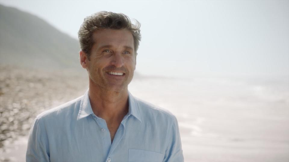 Patrick Dempsey stunned fans with a surprise return to Grey's Anatomy (ABC/PA)