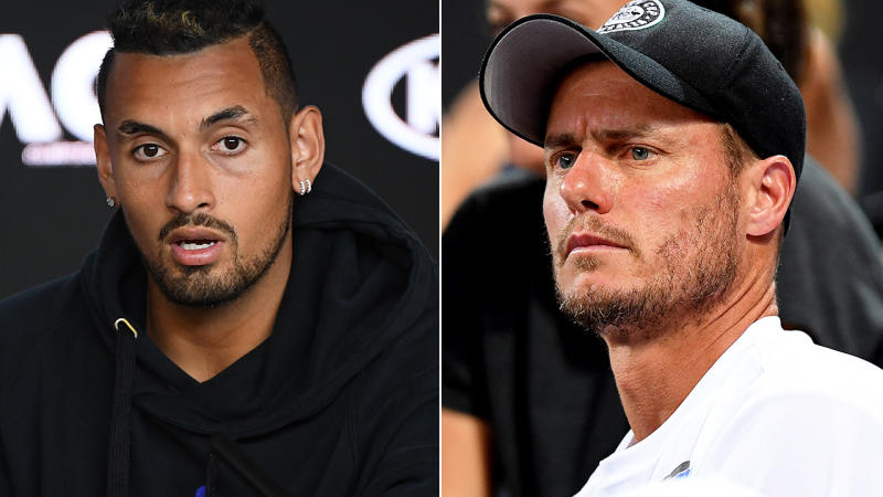 Lleyton Hewitt accuses Bernard Tomic of 'blackmail' and 'physical' threats