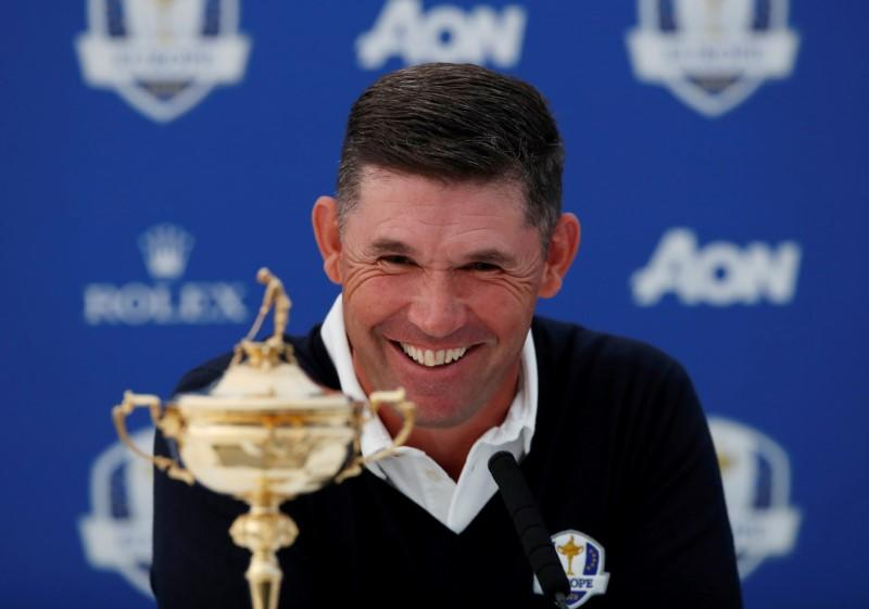 Full steam ahead for Ryder Cup, says Euro captain Harrington