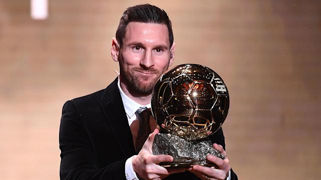 The six-time Ballon d'Or winner hinted at quitting as he picked up the individual accolade earlier this week, but the coach downplayed his words