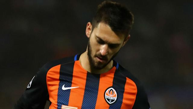 Facundo Ferreyra has apologised to a ball boy he pushed during Shakhtar Donetsk's Champions League loss to Roma.