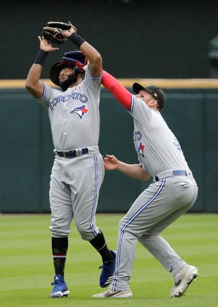 White Sox beat Blue Jays 4-1, game halted by rain in 5th