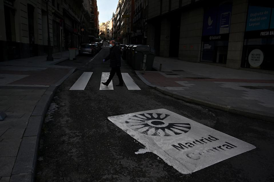 Spain has the second highest rate of infection in the world, despite the lockdown. Source: AFP