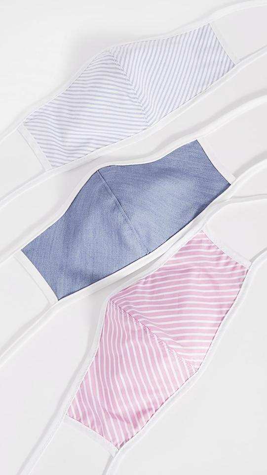 """<p>We love the cute, minimal prints on these <a href=""""https://www.popsugar.com/buy/Citizens-Humanity-3-Pack-Cotton-Face-Coverings-580590?p_name=Citizens%20of%20Humanity%203%20Pack%20Cotton%20Face%20Coverings&retailer=shopbop.com&pid=580590&price=30&evar1=fab%3Aus&evar9=47538441&evar98=https%3A%2F%2Fwww.popsugar.com%2Fphoto-gallery%2F47538441%2Fimage%2F47538664%2FCitizens-Humanity-3-Pack-Cotton-Face-Coverings&list1=shopping%2Cshopbop%2Cface%20masks&prop13=api&pdata=1"""" rel=""""nofollow"""" data-shoppable-link=""""1"""" target=""""_blank"""" class=""""ga-track"""" data-ga-category=""""Related"""" data-ga-label=""""https://www.shopbop.com/cotton-face-covering-pack-citizens/vp/v=1/1551537081.htm?folderID=62968&amp;fm=other-shopbysize-viewall&amp;os=false&amp;colorId=102CB&amp;ref_=SB_PLP_NB_23"""" data-ga-action=""""In-Line Links"""">Citizens of Humanity 3 Pack Cotton Face Coverings</a> ($30).</p>"""