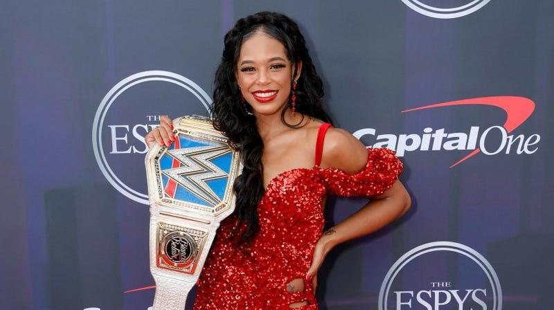 Bianca Belair attends the 2021 ESPY Awards at Rooftop At Pier 17 on July 10, 2021 in New York City.