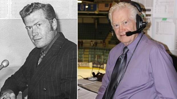 Broadcaster Bob Ridley has spent 50 seasons with the Medicine Hat Tigers, doing play-by-play. (Medicine Hat Tigers - image credit)