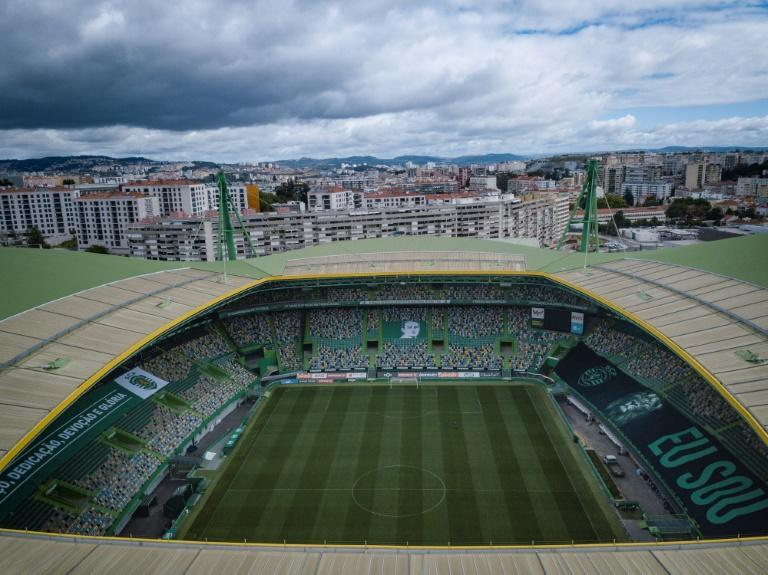The Estadio Jose Alvalade, one of two stadiums in Lisbon scheduled to host matches in the Champions League final eight in August