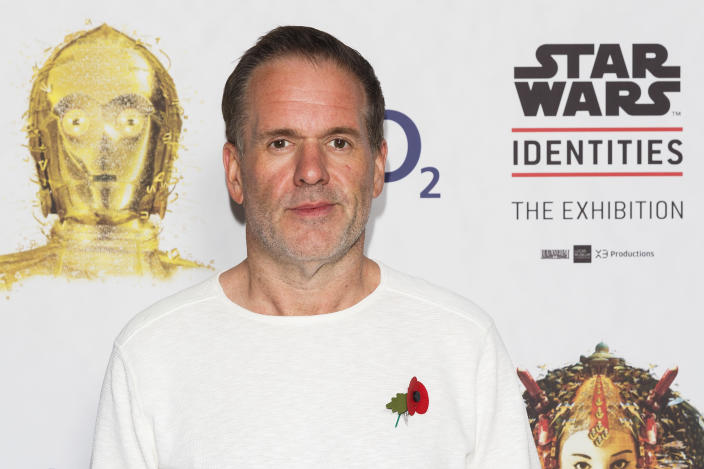Chris Moyles lost six stone, showcasing his new look in 2016. (Getty Images)