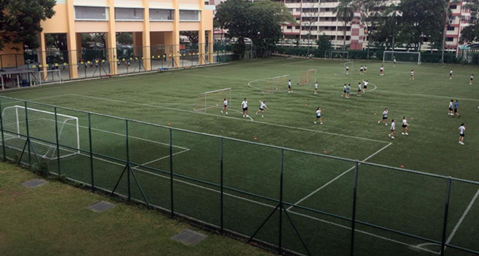 School field in Singapore (PHOTO: ActiveSG)