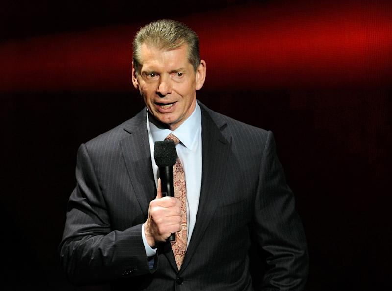 Vince McMahon, pictured in 2014, said the eight-team XFL -- a reboot of the competition which lasted for one season in 2001 -- would kick off in 2020