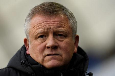 Soccer Football - Championship - Millwall vs Sheffield United - The Den, London, Britain - December 2, 2017 Sheffield United manager Chris Wilder Action Images/Tony O'Brien