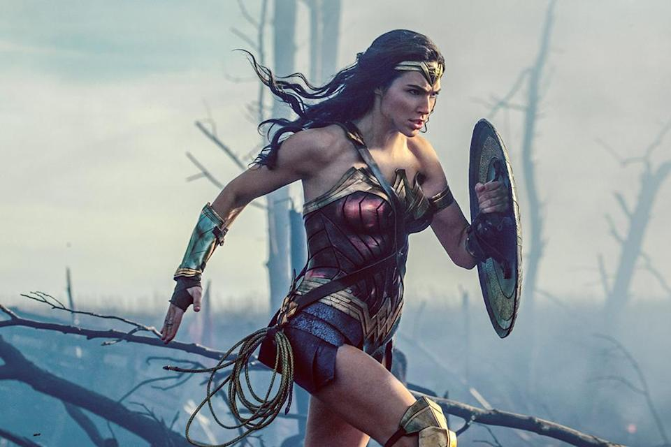 """<p>The greatest female comic character is ready for her close-up in this <a rel=""""nofollow"""" href=""""https://www.yahoo.com/movies/tagged/patty-jenkins"""" data-ylk=""""slk:Patty Jenkins"""" class=""""link rapid-noclick-resp"""">Patty Jenkins</a>-helmed origin story that tells how Amazon warrior-princess Diana (<a rel=""""nofollow"""" href=""""https://www.yahoo.com/movies/tagged/gal-gadot"""" data-ylk=""""slk:Gal Gadot"""" class=""""link rapid-noclick-resp"""">Gal Gadot</a>) became a star-spangled superhero — and hopes to win over critics after a string of DC disappointments. 