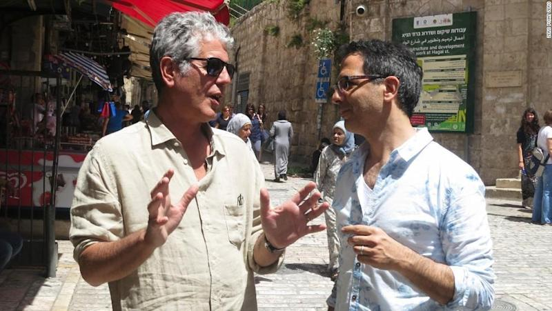 Making Parts Unknown in Jerusalem: Anthony Bourdain and Yotam Ottolenghi