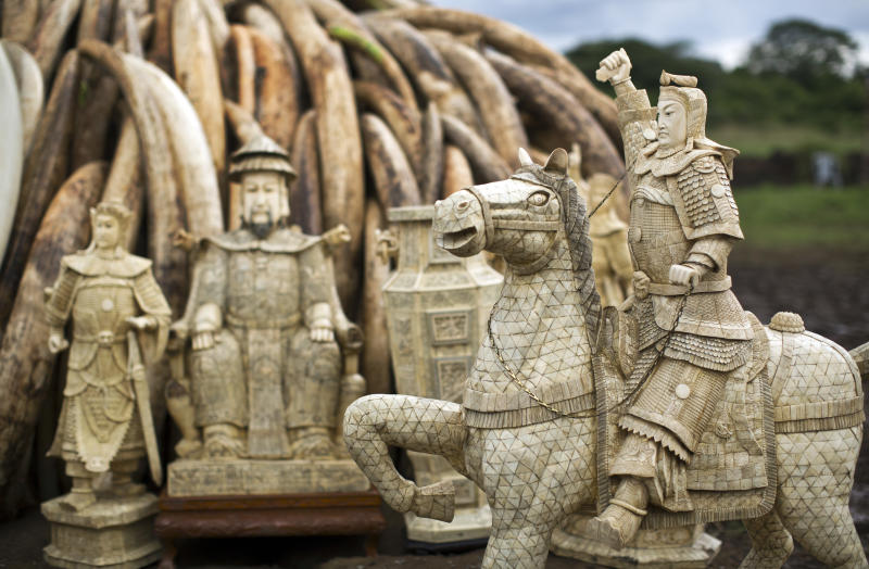 China's Ivory Ban is Reducing Nation's Legal Market