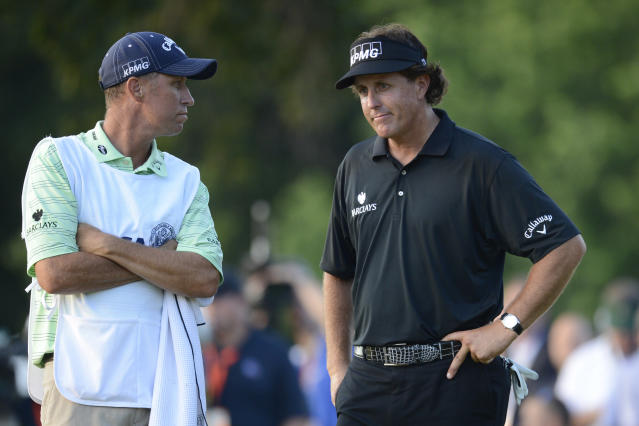 A painful run through Phil Mickelson's six U.S. Open second-place finishes