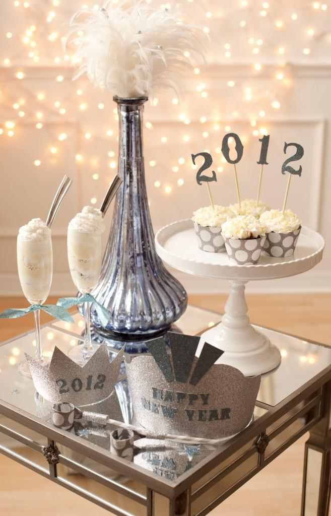 """<div class=""""caption-credit""""> Photo by: Project Nursery</div><div class=""""caption-title"""">Get Stylish Party Hats</div>Sometimes it's more fun to make your own hats than buy tacky, cheap ones at the store. Your guests will love the personalized props, and you'll have fun making them. <br> <a href=""""http://www.babble.com/babble-voices/celebrations-with-design-mom-gabrielle-blair/2012/12/21/new-years-celebrations/?cmp=ELP