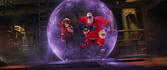 A scene from <em>Incredibles</em> <em>2</em> (Image: Pixar)
