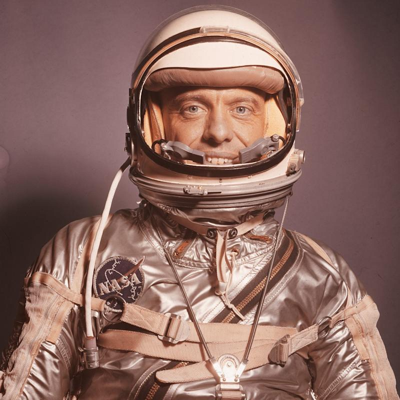 The real Alan Shepard, in 1959 - LIFE/Getty