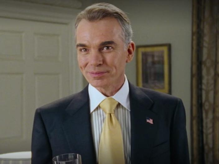 President of the United States Love Actually Billy Bob Thornton