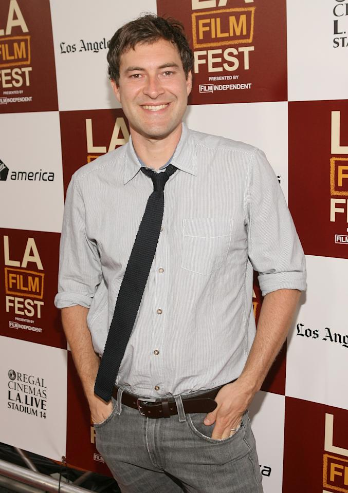 LOS ANGELES, CA - JUNE 15:  Actor Mark Duplass attends the 2012 Los Angeles Film Festival Premiere of 'People Like Us' at Regal Cinemas L.A. LIVE Stadium 14 on June 15, 2012 in Los Angeles, California.  (Photo by Jesse Grant/Getty Images)