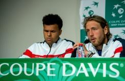 France 'not overconfident' ahead of Serbia Davis Cup semi