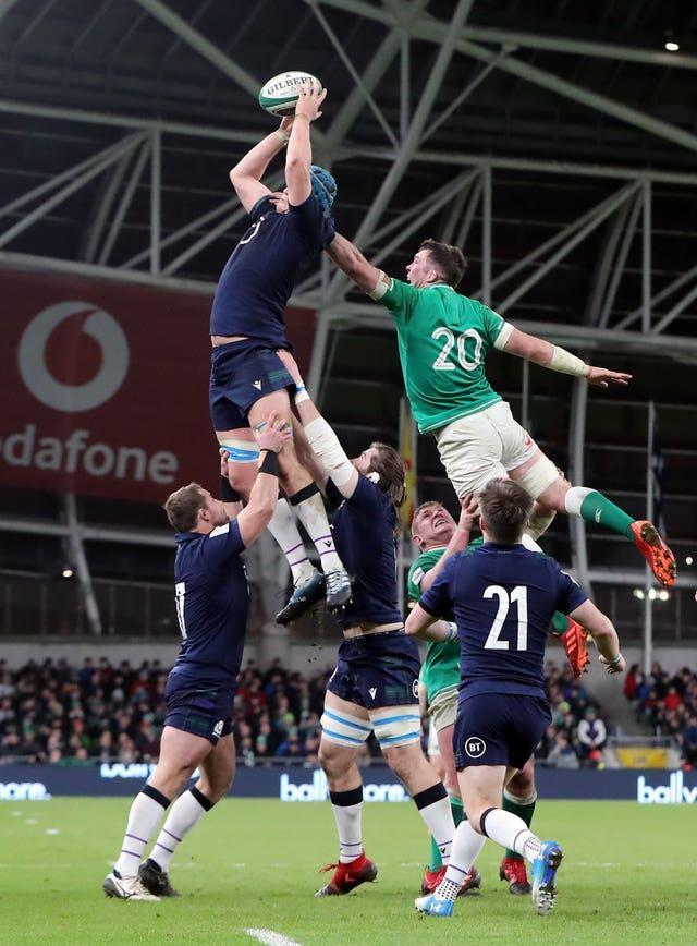 Scotland's Scott Cummings is not expecting many surprises from Ireland