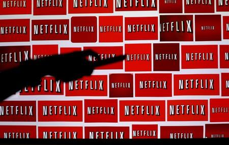 FILE PHOTO: The Netflix logo is shown in this illustration photograph in Encinitas, California