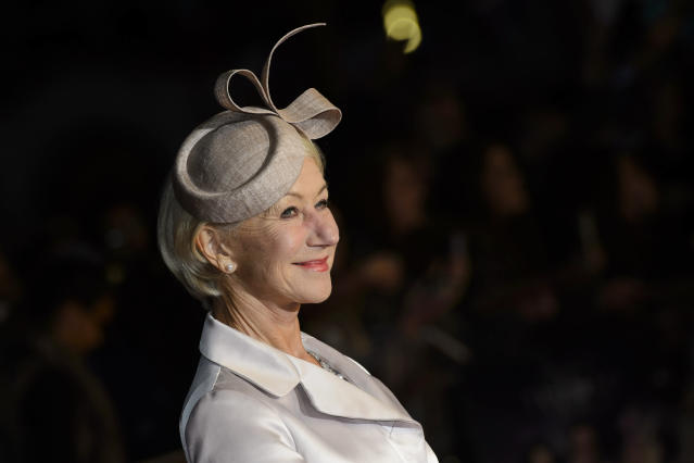 Helen Mirren telling it like it is. (Photo: PA)