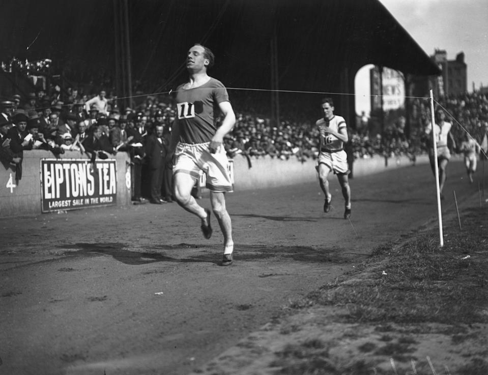 Eric Liddell (Photo by Hulton Archive/Getty Images)