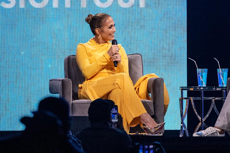 "Jennifer Lopez spoke to Oprah Winfrey during ""Oprah's 2020 Vision: Your Life in Focus Tour"" and touched on her Oscars snub. (Photo: Emma McIntyre/Getty Images)"