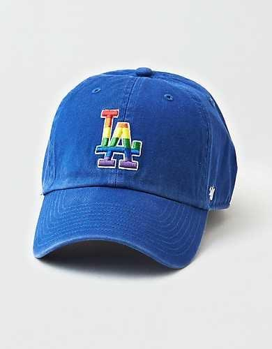 <p>This <span>American Eagle '47 Brand LA Dodgers Pride Clean Up Hat</span> ($25) is so fun.</p>