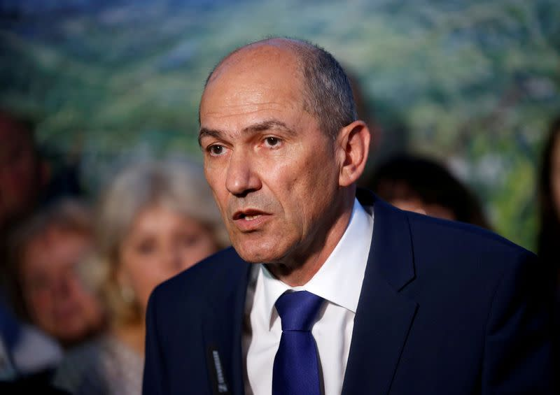 Slovenia president names center-right Janez Jansa as PM candidate